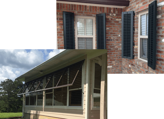 Exterior Window Shades in Baton Rouge, LA | Custom Shades